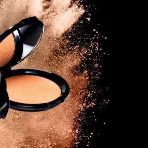 """""""Instant sexy"""" pearlised bronzer"""